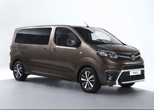 Toyota Proace Verso Single Side Door L1 1.5D 85 kW Shuttle Comfort 6k-man